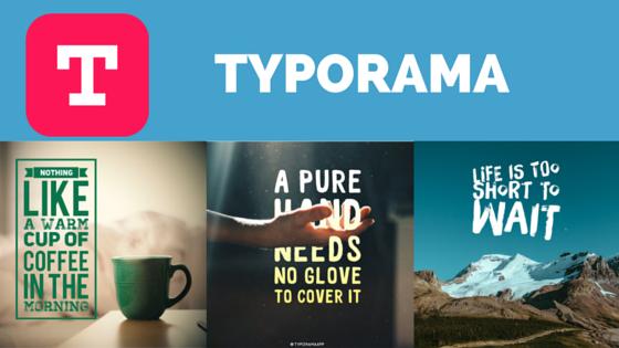 app Typorama