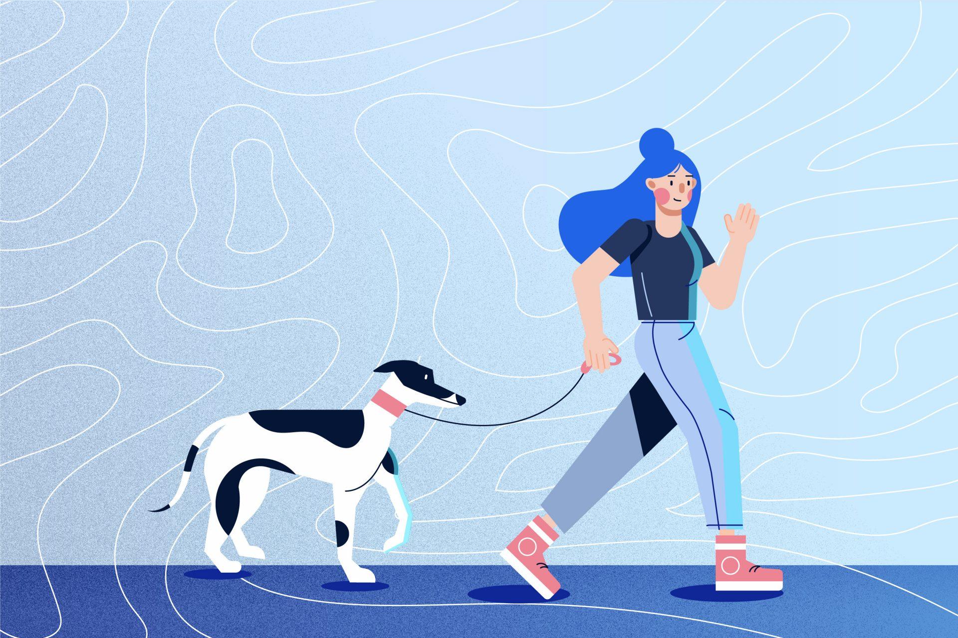Para pausar o bloqueio criativo, faça uma caminhada